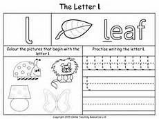 letter l sound worksheets 24492 letters of the alphabet teaching pack 24 powerpoint presentations and 26 worksheets by