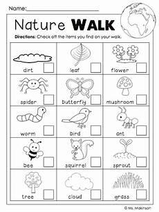 nature walk worksheet preschool 15153 freebie earth day printables nature walk scavenger hunt kiddo s earth