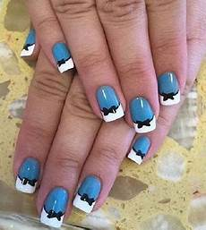 chic and classy bow nail art for the girly girl in you