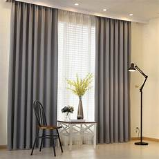 aliexpress buy modern curtain plain solid color
