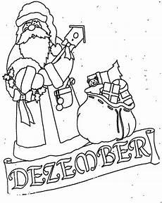 November Malvorlagen Dezember Mit Weihnachtsmann Ausmalbild Malvorlage