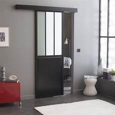 prix portes coulissantes porte coulissante en aluminium noir fonc 233 dans un esprit