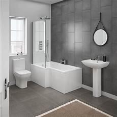 Bathroom Suites Ideas Milan Modern Shower Bath Suite At