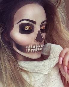 make up leicht 43 cool skeleton makeup ideas to try for stayglam