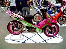 Modifikasi Shogun 125 by Otomotif Bike Contoh Modifikasi Suzuki Shogun Sp 125