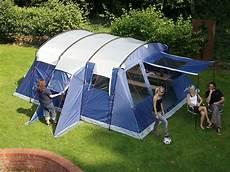 6 mann zelt skandika 6 person large family tunnel tent sewn