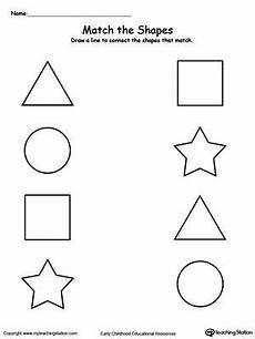 shapes matching worksheets for kindergarten 1180 match the shapes shapes worksheets shape worksheets for preschool shapes worksheet kindergarten