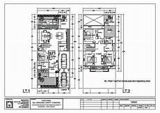 Tren Gaya 12 Gambar Denah Rumah Type 36 Skala 1 50 Simple