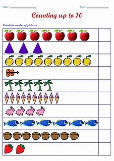 counting numbers worksheets for preschool 7985 kindergarten worksheets counting worksheets count the number of pictures up to 10