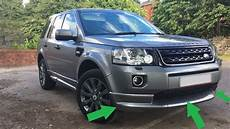 pieces land rover freelander 3pc stornoway grey front bumper dynamic sport kit