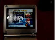 game boy advance mas multi juegos y cartucho flash card