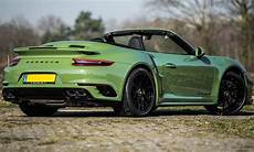 Porsche 911 Turbo S Cabriolet Tuned By Edo Competition Is