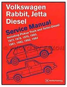 service repair manual free download 1984 volkswagen jetta electronic throttle control 1977 1984 volkwagen rabbit pickup and vw jetta diesel repair shop manual 9780837601090