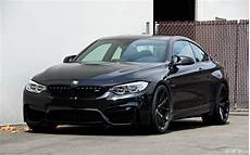 bmw m4 black black sapphire bmw m4 with matte black hre wheels
