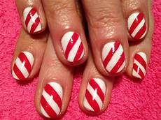 candy canes nail art gallery
