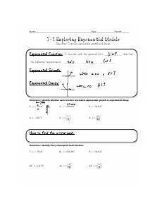 writing exponential functions worksheet 3 algebra lab standard 6 3 homework writing