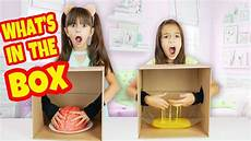 what s in the box challenge and youtube
