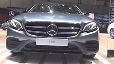 Mercedes E 200 Limousine 2016 Exterior And Interior