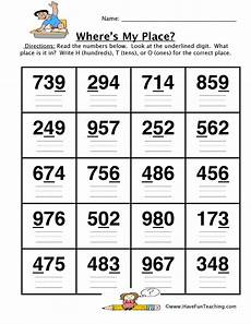 place value worksheets hundreds 5128 place value worksheet hundreds tens ones teaching