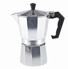 espressokocher edelstahl oder aluminium