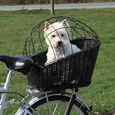 Bicycle Basket Trixie Rear Mounted Bike Wicker Carrier