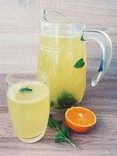 Lecker Figurfreundlich Orangen Zitronen Limonade Selber