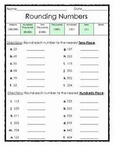 place value rounding worksheets 5256 rounding numbers to the tens and hundreds places fourth grade math homeschool math second
