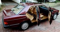 1986 mercedes 190e is a brand new car that costs