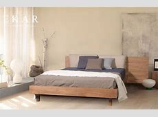 Latest Design Wooden Headboard King Size Beds for Sale