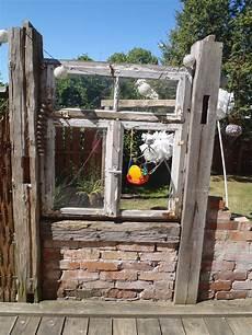 Altes Fenster Zwischen Alten Balken Mein Garten Alte