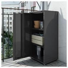 Balkon Schrank Ikea - josef schrank drinnen drau 223 en grau dunkelgrau ikea