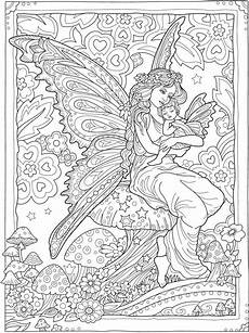 magical fairies coloring pages 16580 creative magical fairies coloring book dover publications coloring pages