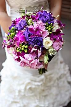 And Purple Wedding Flowers