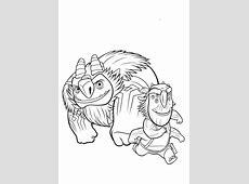 Trollhunters para colorear   Dibujos para colorear