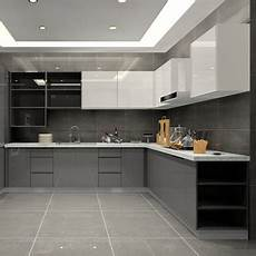 Grey Kitchen Base Cabinets by High Gloss Finish Kitchen Cabinet Grey Base Cabinet And
