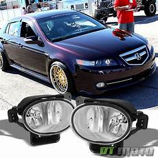 acura tl lights 2007 2008 acura tl bumper fog lights driving ls bulbs