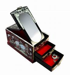 grande boite 224 bijoux avec miroir design