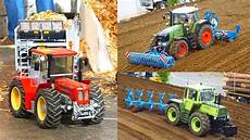 Rc Tractors At Work Scale 1 8 Fendt Mb Trac Schl 252 Ter