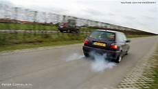 rat golf iii gti accelerations exhaust sounds