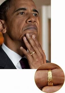 barack obama s gold wedding band coloredgems