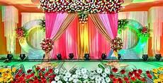 decoration photo valaikappu stage decoration at jayaram hotel pondicherry