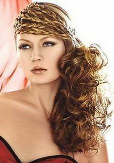 curly side ponytail prom hairstyles