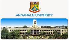 annamalai university m a soc 1 rajen jani annamalai university distance education b ed admission fee