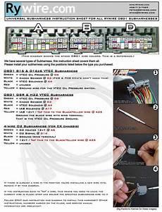 Wiring Diagram For Honda Motor Swaps Irrational
