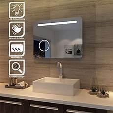 wandspiegel bad sonni led bad spiegel 80 x 60cm wandspiegel badezimmer