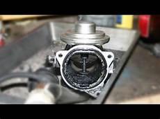 agr ventil ausbauen und reinigen vw touran egr valve