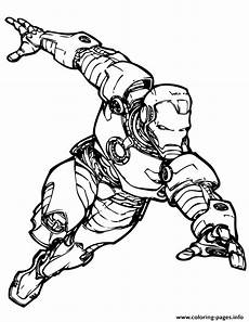 marvel comics iron coloring pages printable
