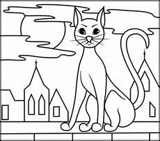 color by number cat coloring pages 18089 black cat coloring page printables apps for
