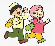 Islam Clipart Pendidikan Gambar Anak Tk Muslim