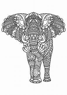 Malvorlage Erwachsene Elefant Elefanten 10837 Elefanten Malbuch Fur Erwachsene